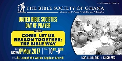 United Bible Societies Day of Prayer | Bible Society Of Ghana