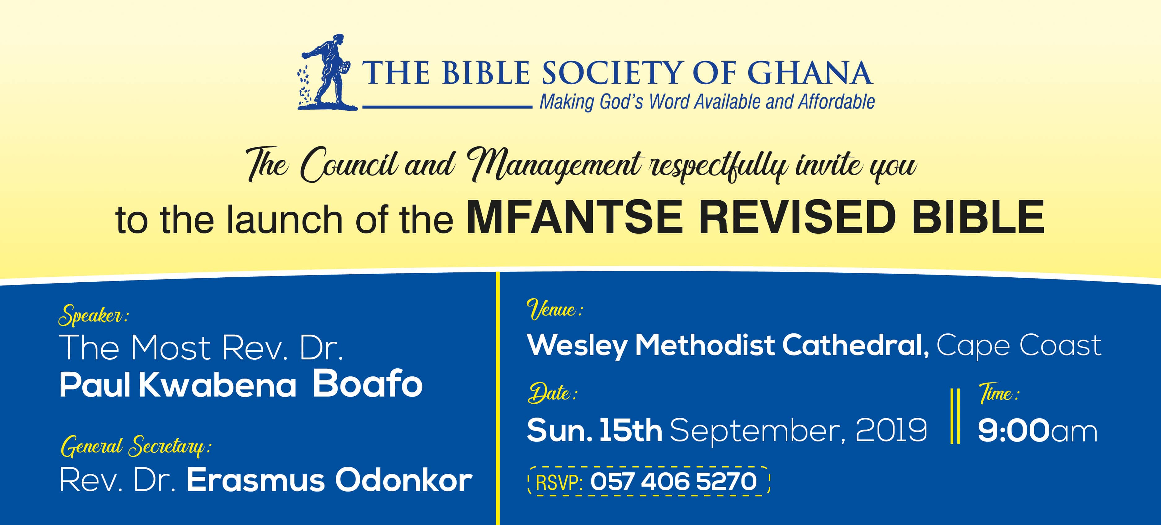 Bible Society Of Ghana |